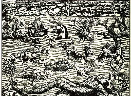 Bestiario: mostri marini